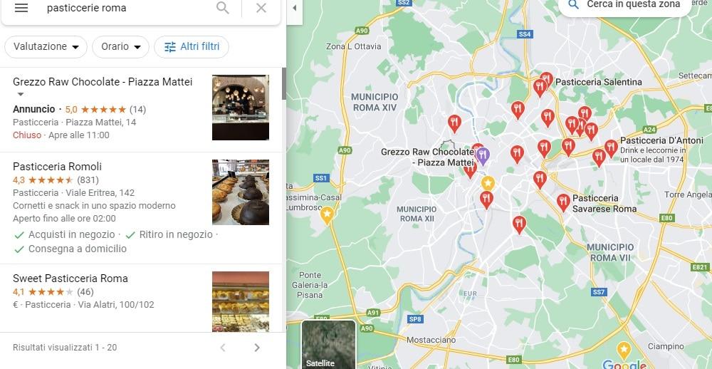 Google my business guida base - google maps