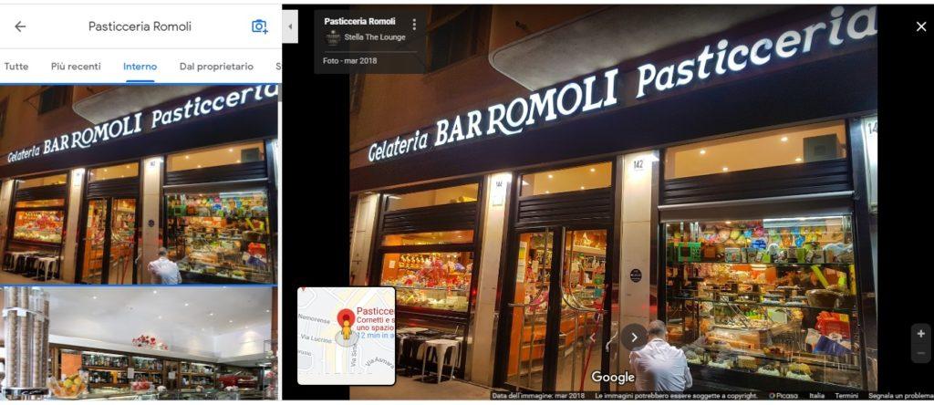 Google my business - foto profilo
