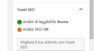 Ottimizzazione Seo - Yoast Seo
