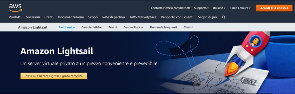 come installare WordPress su Amazon Lightsale - home di amazon lightsale