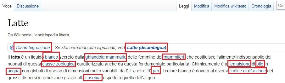 Case Study sui link interni di Wikipedia