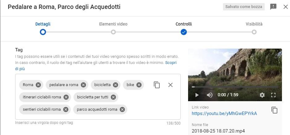 Come si guadagna con youtube guida per aziende - tag video